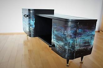 Nábytok - skrinka pod televízor - 10033605_