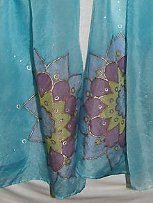 Šatky - Hodvábny šál
