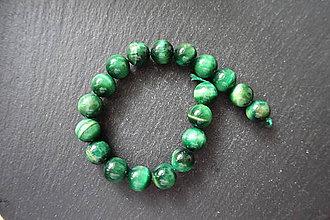 Minerály - Tigrie oko farbené č.-z.-m. / 18ks - 11mm (Zelená) - 10034504_