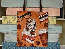 Nákupné tašky - Taška pro čtenářku - 10032835_