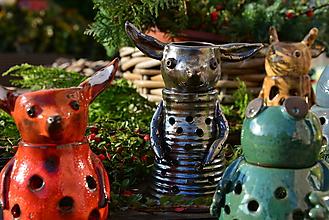Svietidlá a sviečky - Záhradníci obecní (Záhradník nenápadný ušatý) - 10032786_