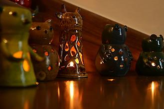Svietidlá a sviečky - Aromalampa - Žirafka - 10032790_