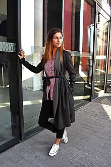 Kabáty - Antracitový utikáček CLAUDINE - 10036631_