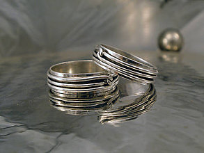 Prstene - obrúčky - infinity - 10039237_