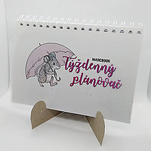 Papiernictvo - kalendár UNI - myška - 10036693_