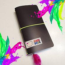 Papiernictvo - MADEBOOK zápisník - SIVÝ - 10036801_