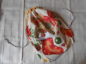 Úžitkový textil - Mikulášske vrecko - 10038026_