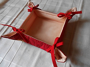 Košíky - Vianočný košík - 10038096_