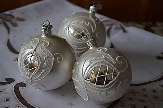 Dekorácie - Biele vianoce - 10037408_