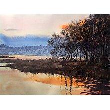 Obrazy - Obraz - Pri západe slnka - 10038986_