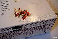 Krabičky - drevený maxi box - 10038126_