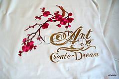 Tričká - bavlnené tričko Art - 10038356_
