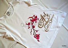 Tričká - bavlnené tričko Art - 10038357_