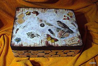 Krabičky - drevený maxi box  (Príroda) - 10038193_