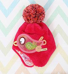 Detské čiapky - Originálna ušianka - 10037562_