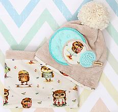 Detské čiapky - Originálny set - 10037620_