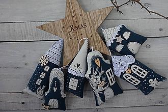 Dekorácie - Vianočná ulička - 10036179_
