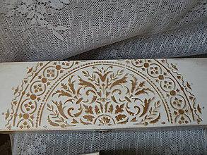 Krabičky - Dárková krabice na víno,šperkovnice s reliéfem - 10036080_