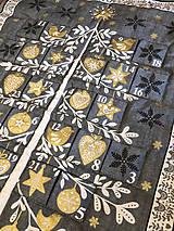 """Dekorácie - Adventný kalendár """"Stromček"""" - 10039670_"""