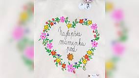 Nákupné tašky - ♥ Plátená, ručne maľovaná taška ♥ (MI16) - 10036530_