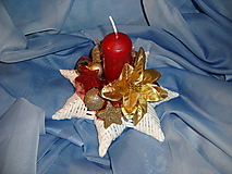 Svietidlá a sviečky - Svietnik hviezda - 10038538_