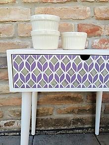 Nábytok - Stolík v retro dizajne - 10039300_