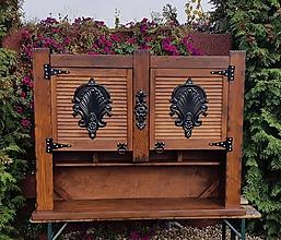 Nábytok - Rustikalna skrinka - 10036307_