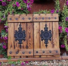 Dekorácie - Rustikalne okenice - 10036502_