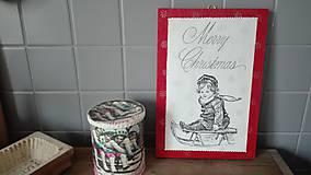 Tabuľky - Vianočná tabuľka - 10037924_