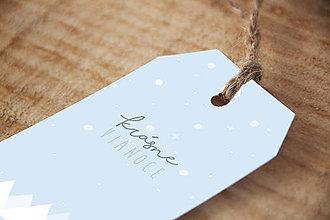 Papiernictvo - Vianočné menovky na darčeky(PDF) - 10036630_
