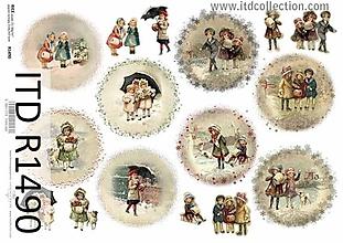 Papier - ryžový papier ITD 1490 - 10037059_