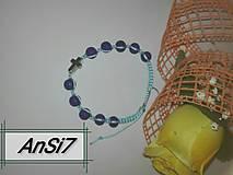 Náramky - shamballa ruženec - 10037114_