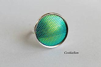 Prstene - Prsteň Gold in Turquoise - 10039703_