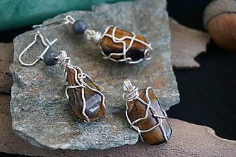Sady šperkov - Súprava šperkov - Tigrie oko - 10037233_