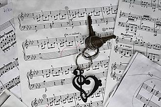 Kľúčenky - S láskou k hudbe - kľúčenka - 10039184_
