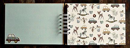 Papiernictvo - ALBUM - fotoalbum pre chlapčeka-Leto,príroda,zvieratká - 10039328_