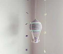 Hračky - Háčkovaný balónik (pastelky) ZĽAVA 20% - 10039846_