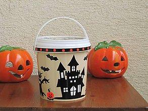 Drobnosti - Halloweenske vedierko I - 10036661_