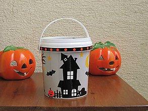Drobnosti - Halloweenske vedierko II - 10036687_