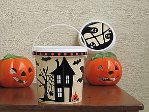 Drobnosti - Halloweenske vedierko III - 10036707_