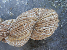 Materiál ručne robený - Ručne pradená, ponožková priadze - 10041074_