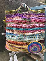 Veľké tašky - Farebná taška - 10041269_