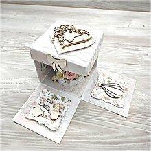 Papiernictvo - Krabička na peniaze - 10041837_