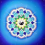 Dekorácie - Mandala pokoja a vyváženosti - 10041897_