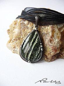 Náhrdelníky - Amulet - Serpentinit - 10041669_