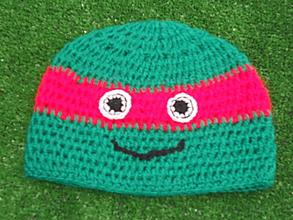Detské čiapky - čiapka pre malého bojovníka - 10043647_
