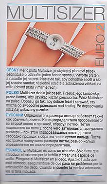 Prstene - meriaci krúžok - 10043753_