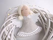 Anjel strážny (Biela trblietavá)