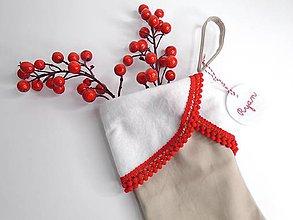 Dekorácie - Mikulášske čižmičky (Mikulášske čižmičky- unisex) - 10041838_