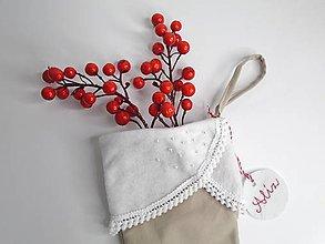 Dekorácie - Mikulášske čižmičky (Mikulášske čižmičky- pre dievčatá) - 10041871_